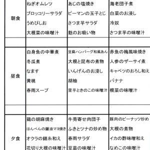 【たんぽぽ森本の家】 ★献立表 8/4~8/10★