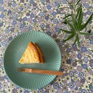 ベイクドチーズとパウンドケーキ