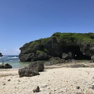 GO TO 沖縄!二日目 北上して備瀬までそして瀬良垣の宿へ~万座毛からの夕焼けが美しかった♪