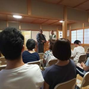 城崎温泉「温泉寺」落語会でした。
