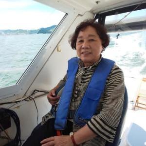今日は一泊2日で小豆島北浦港クルージング