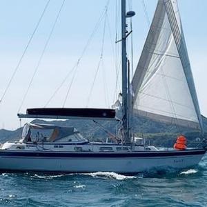 辛坊治郎さんヨットで太平洋単独往復横断達成