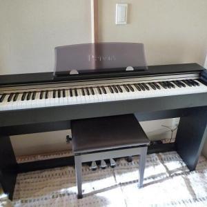 ピアノの練習・・始めてみようかな