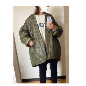 買って良かったキルティングジャケット♡グレイルジャケット着画