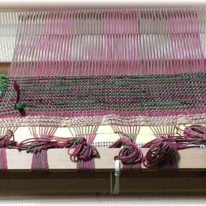 ~初めての網代織り~