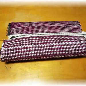 ~裂き織りで初めてのポーチ~