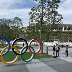 東京オリンピック着々と