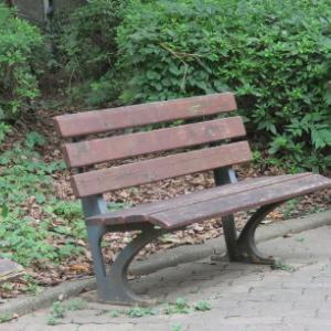 素敵なベンチです