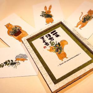 「筆文字 風和里」さん♪ご紹介!10/25、10/26、はびき堂Market♪
