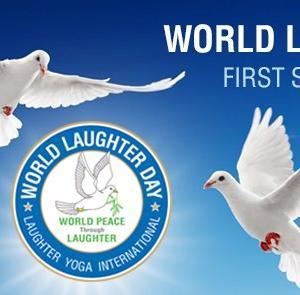 今こそ笑いが必要です!1000人の笑いヨガ〜ワールドラフターデーオンラインイベント