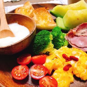 ワンプレート朝ごはん(洋食)