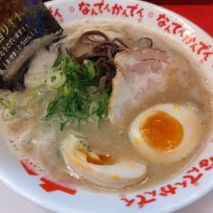 あの「なんでんかんでん」でとんこつラーメンを食す@渋谷肉横丁