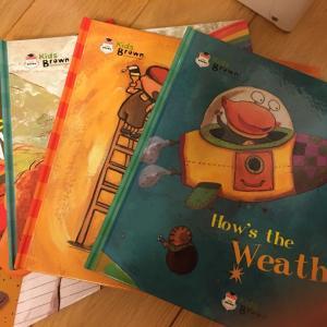 いろいろな英語の絵本