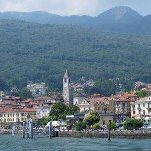 2019年夏旅 イタリア・ベルギー・イギリスの旅 ミラノ マッジョーレ湖へ マードレ島