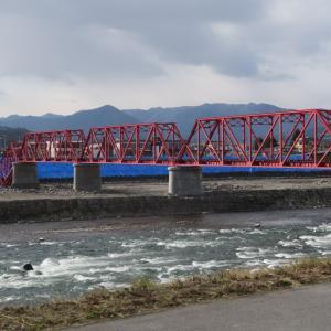 台風19号により被害を受けた別所線の橋梁を見てきた