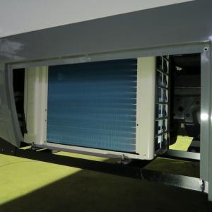 家庭用エアコン 日中の作動とソーラー発電状況