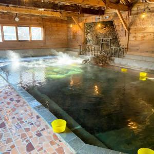 透明な湯も悪くない『元湯甲子温泉 旅館 大黒屋』