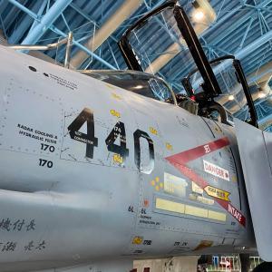 浜松はエアーパークで憧れの戦闘機をじっくり眺めて大満足