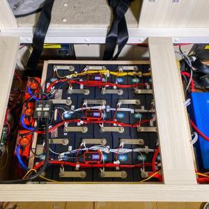 2台目の20kWh超えのリチウムサブバッテリーを搭載したキャンピングカー完成!
