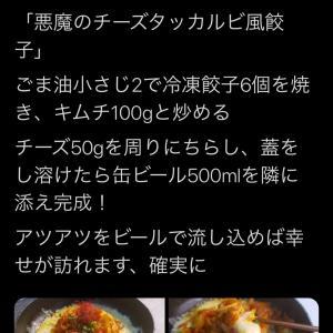悪魔のチーズダッカルビ風餃子