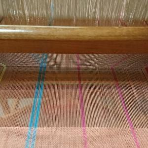 平織+綾織のまふらー