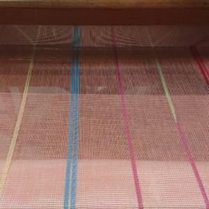 平織+綾織のまふらーの続き1