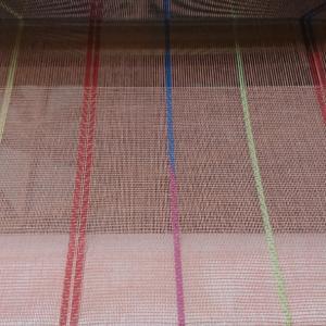 平織+綾織のまふらーの続き2