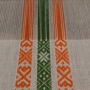 ベルト織+綾織