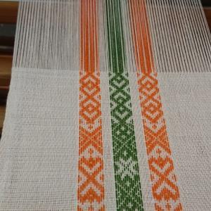 ベルト織+綾織の続き1