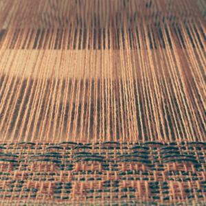 変化畝織のマフラー