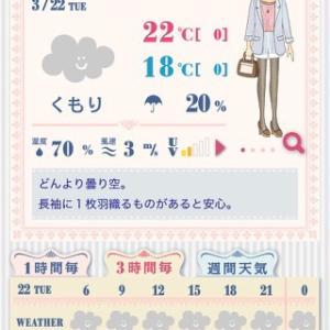 今日は何を着ればいい?【アプリ】おしゃれ天気
