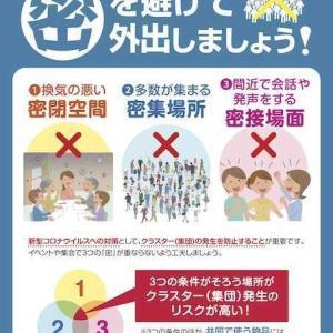 """「感染爆発の重大局面」3つの条件""""密""""に全て当てはまる飲食店!!日本文化の崩壊を招く恐れを…"""