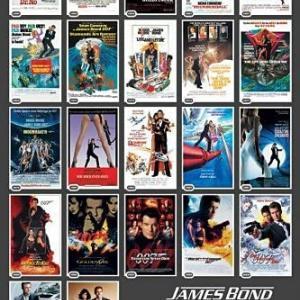 BS-TBS 映画007シリーズの全24作品と番外編2作品を2020年6月から順次放送。