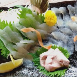 うおひろ 海鮮浜焼き 武庫之荘 居酒屋 カワハギ 鯛の白子
