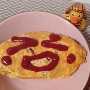 コロナ⑥自粛 SAKU的雑料理 チキン料理 ネイル 爪甲縦裂症 爪割れる オムライス