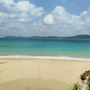 奄美大島旅行⑩ダイビング 倉崎海岸 奄美クレーター レンタサイクル 台風