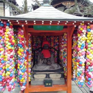 八坂庚申堂 京都旅行 開運 パワースポット くくり猿 欲を捨てる インスタ映え カラフルなお寺