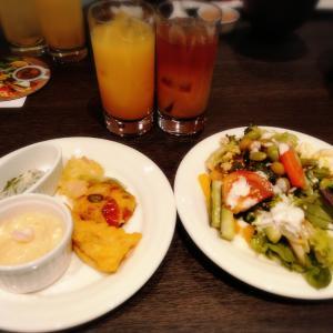 朝食ブッフェ インタゲートホテル大阪③ ラウンジ バイキング 焼き立てパン
