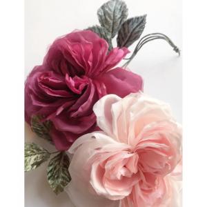 薔薇のコサージュ