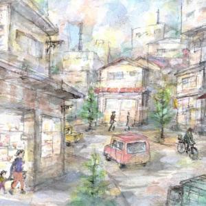下町の商店街