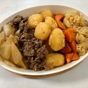 【今日の夕食は ★ 『肉じゃが』後は簡単に・・・】