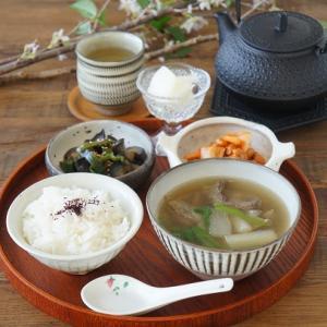 牛タンと大根のスープ