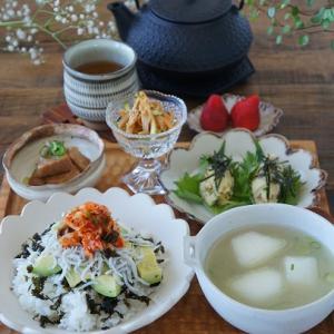 簡単丼と便利な副菜いろいろ