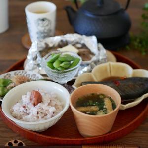 鮭の味噌ホイル焼きと作り置き