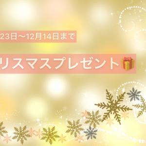 本日より開始☆クリスマスキャンペーン&福袋☆他お知らせあります