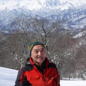 上州武尊山系・鹿俣山(1637m)~1715m峰の西~夜後沢源頭 (山スキー) 2020年 3/7(土)
