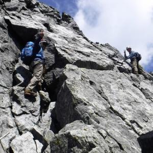 北アルプス・剱岳(2999m) <別山尾根> 2019年  8/17(土)~19(日)