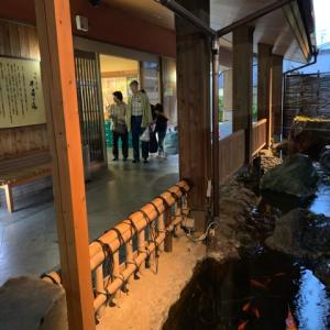 大阪旅行2日目 温泉