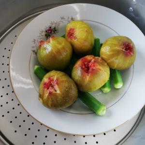 《薬膳》旬のいちじくと今月の捨てられない食材は~梨の皮!