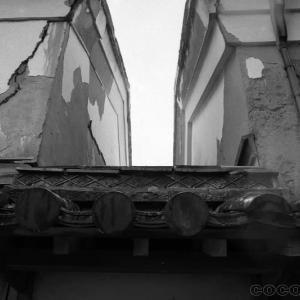 愛媛松山市 渡辺家住宅 漆喰壁が